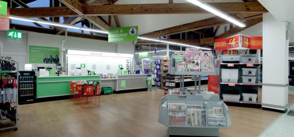 Asda Shewsbury - Projects - Woodgreen Construction Ltd