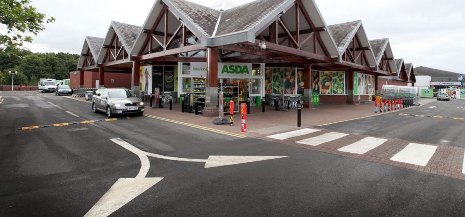 Asda Shewsbury - Projects - Woodgreen Construction Ltd