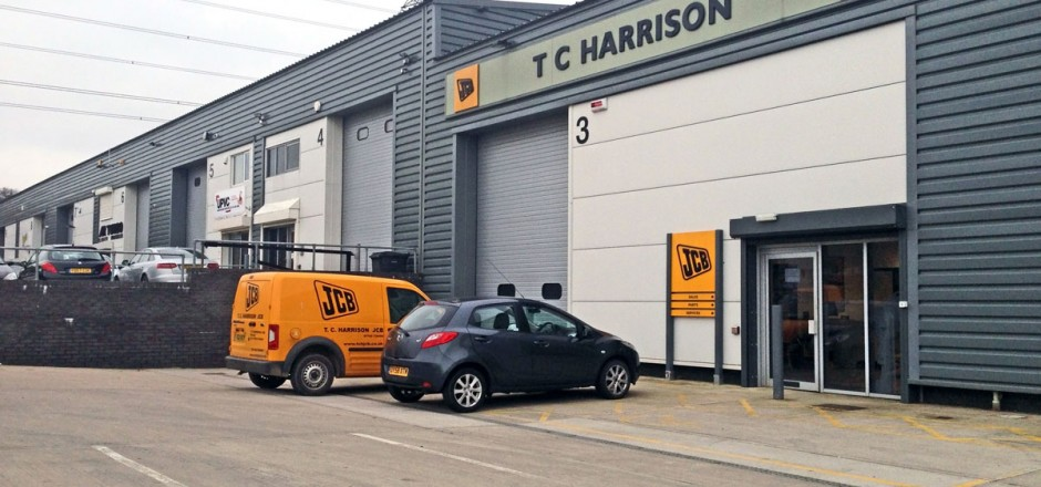 TC Harrison JCB Dealership - Woodgreen Construction Ltd