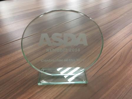 Asda Remodel Contractor of the Year 2014