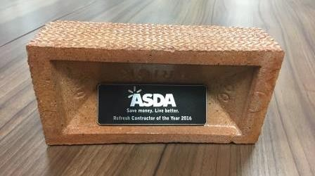 Asda Refresh Contractor of the Year 2016