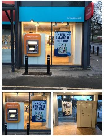 Sainsburys Bath - ATM